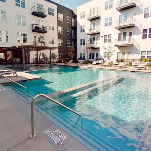 View virtual tour for the swimming pool at 4600 Ross in Dallas, Texas