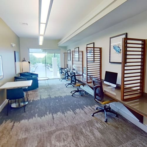 View virtual tour for the business center at Lakeshore Pearl in Austin, Texas