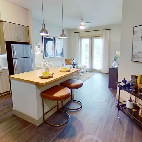 View virtual tour for A3 floor plan at The Guthrie in Austin, Texas