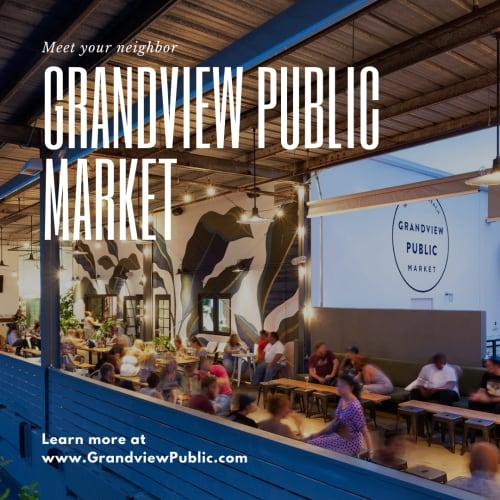 Grandview public market near The District Flats in West Palm Beach, Florida