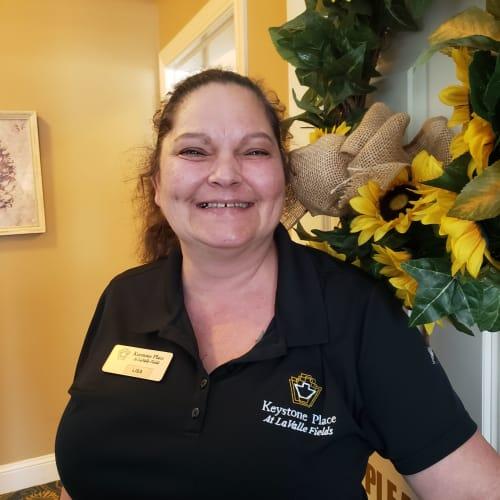 Lisa Kees, of Keystone Place at LaValle Fields in Hugo, Minnesota