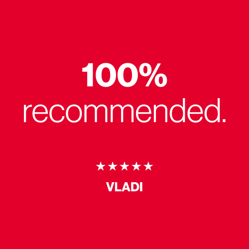 A five star review from Vladi for A+ Storage in Miami, Florida