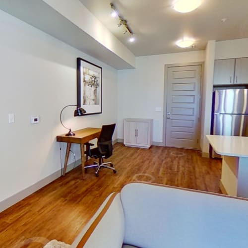 View virtual tour for B2 floor plan at The Alcott in Denver, Colorado