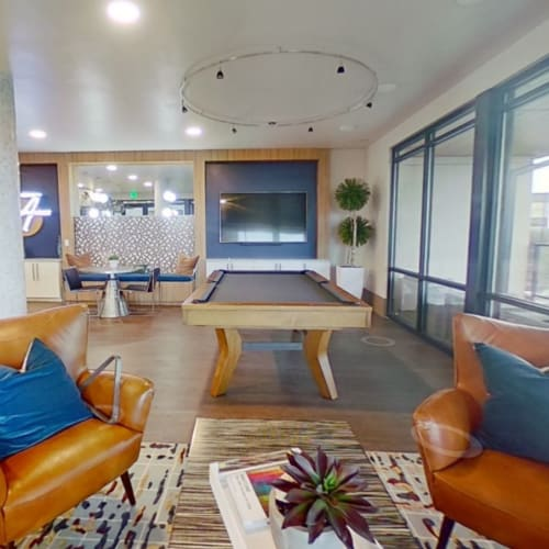 View virtual tour for Lounge w/ Pool floor plan at The Alcott in Denver, Colorado