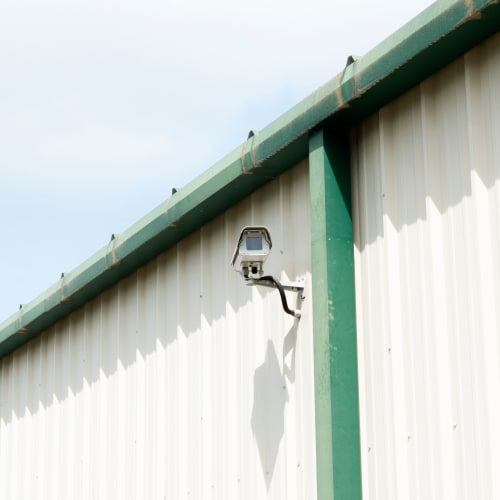 Video surveillance at Red Dot Storage in Bloomington, Illinois