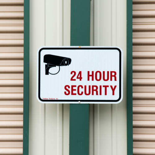 24 hour security at Red Dot Storage in Montgomery, Alabama