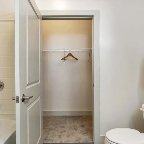 Large closet at Gantry Apartments in Cincinnati, Ohio