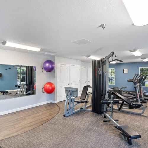 Fitness Center at Lakefront at West Chester in West Chester, Ohio