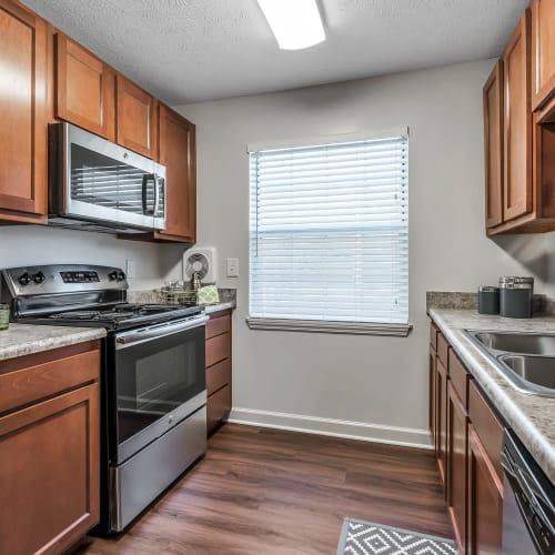Kitchen at Mallard Lakes Townhomes in Cincinnati, Ohio