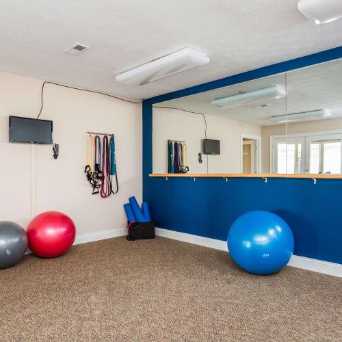 Fitness Center Mallard Lakes Townhomes in Cincinnati, Ohio