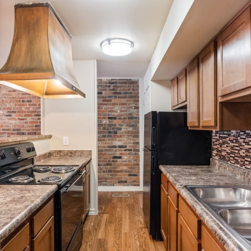 Modern Kitchen at Thirty43 by the Greene in Kettering, Ohio