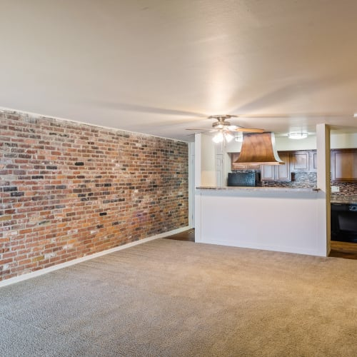 Large living area at Thirty43 by the Greene in Kettering, Ohio