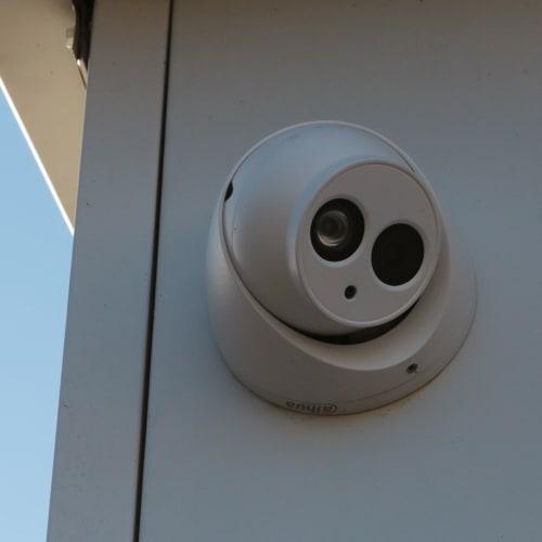 Security camera at Midgard Self Storage