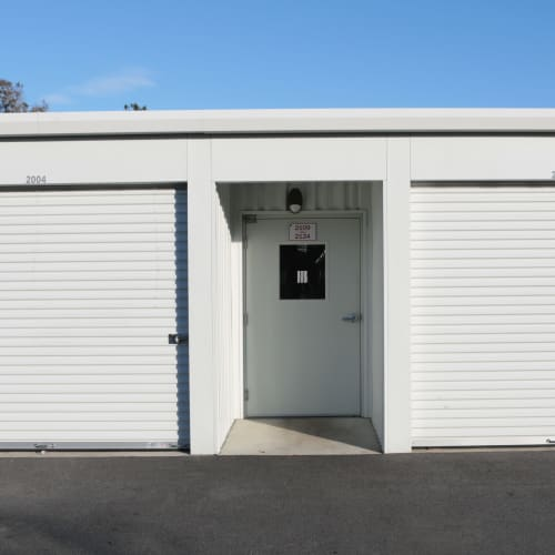 gate entrance at Midgard Self Storage