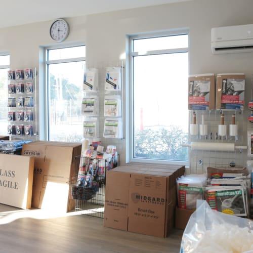 packing supplies at Midgard Self Storage