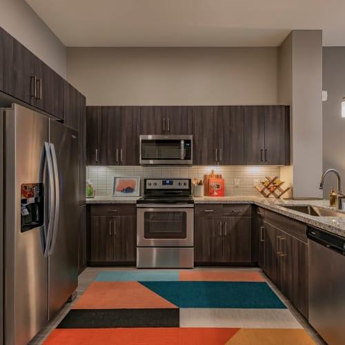 Spacious kitchen at Encore Tessera in Phoenix, Arizona