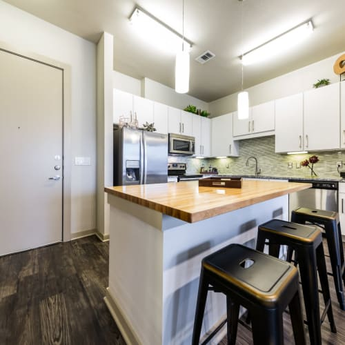 Kitchen of Marq Uptown in Austin, Texas