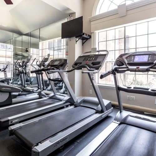 Treadmills at Marquis on Pin Oak in Houston, Texas