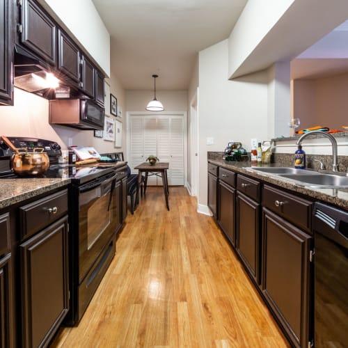 Kitchen at Marquis on Pin Oak in Houston, Texas