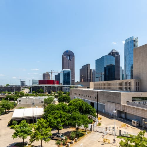 Views from The Marquis of State Thomas in Dallas, Texas