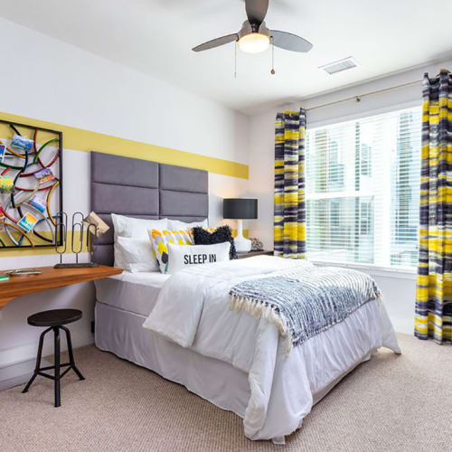 View virtual tour for 1 bedroom 1 bathroom at Central Station on Orange in Orlando, Florida