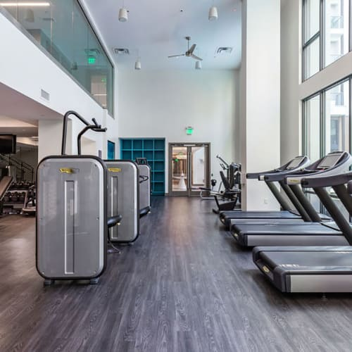 View virtual tour for the fitness center at Central Station on Orange in Orlando, Florida