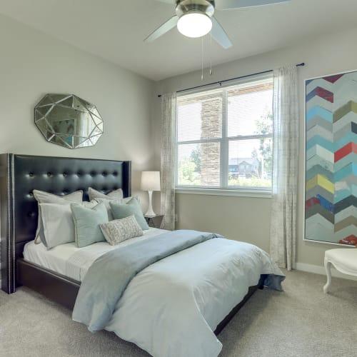 Bedroom at Terrene at the Grove in Wilsonville, Oregon
