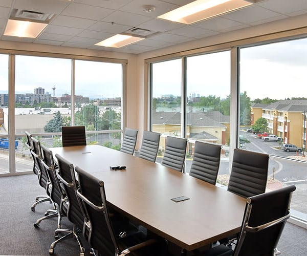Edgemark Self Storage offers a business center with a view