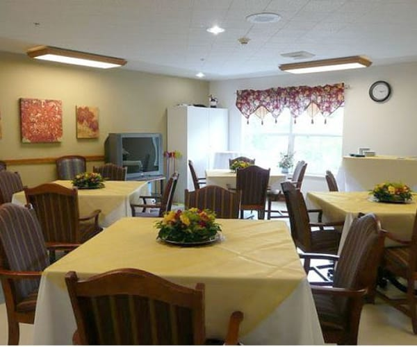 Enjoy three delicious meals each day at  Bridgeport Place Assisted Living