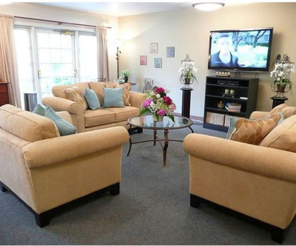 A warm, welcoming environment at Bridgeport Place Assisted Living