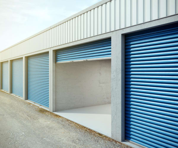 Exterior view of Meadows Self Storage
