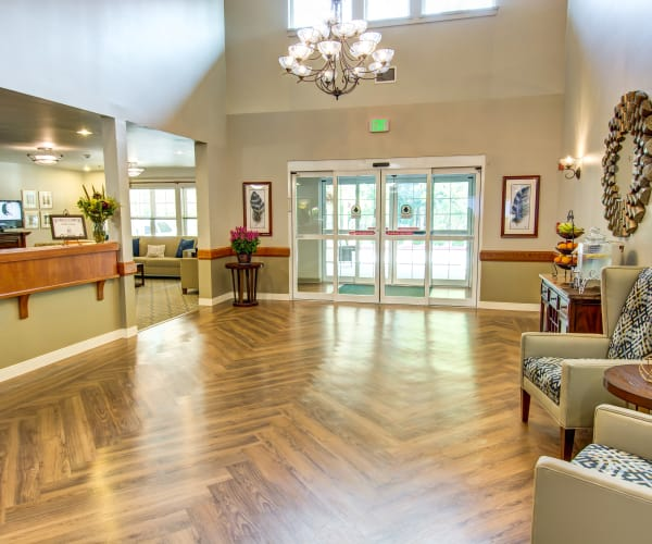 Bridgeport Place Assisted Living Assisted Living lobby