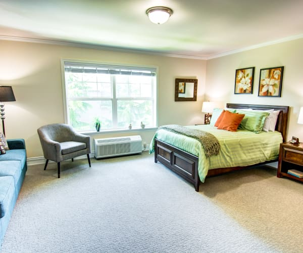 Bridgeport Place Assisted Living Assisted Living private bedroom