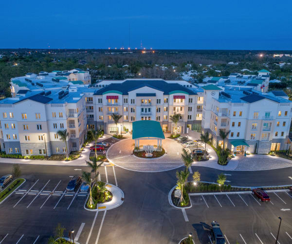 Stunning exterior of All Seasons Naples in Naples, Florida