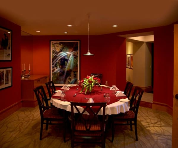 Intimate dining area at All Seasons of Rochester Hills in Rochester Hills, Michigan