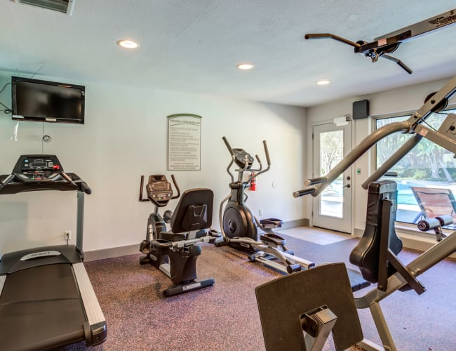 The Reserve at City Center North offers a Fitness Center in Houston, Texas