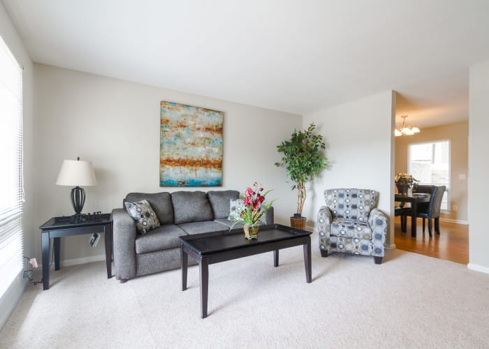 Apartment features at Castlegate Windsor Park Apartments in Columbus