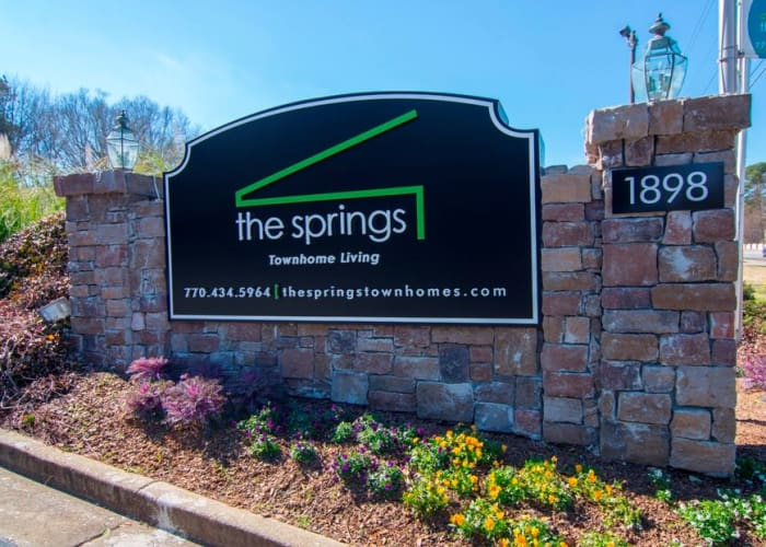 The Springs signage in Smyrna