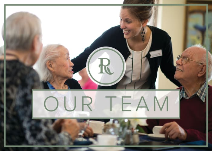 Learn about the team at Regency Park Astoria in Pasadena, California