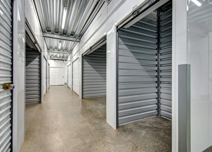 Climate-controlled storage units at San Marcos Mini Storage in San Marcos, California