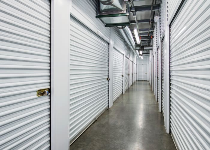 Climate-controlled storage units at Butterfield Ranch Self Storage in Temecula, California