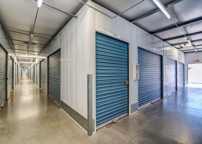 Climate-controlled storage units at Smart Self Storage of Eastlake in Chula Vista, California