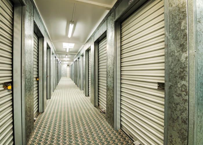 Climate-controlled storage units at Sorrento Mesa Self Storage in San Diego, California