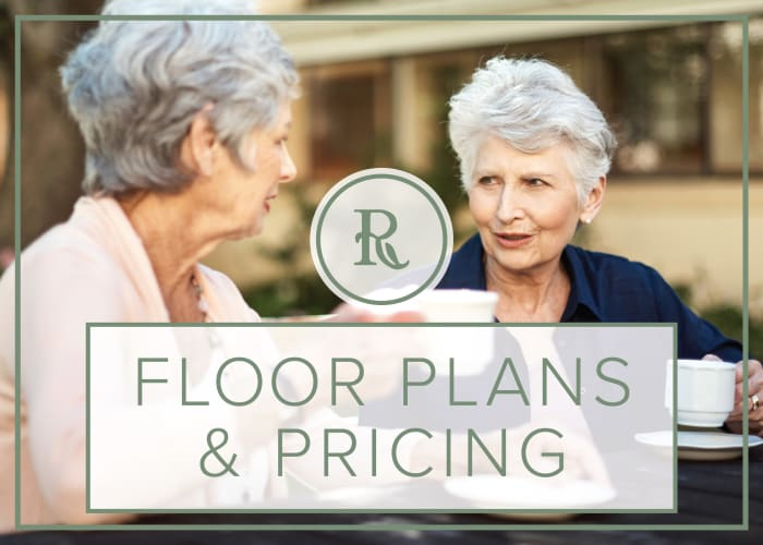 Floor plans and pricing at Regency Park Oak Knoll in Pasadena, California