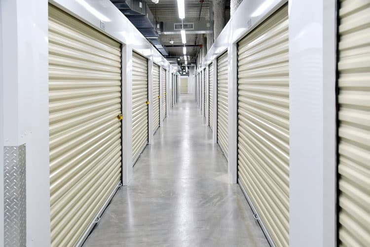 Climate controlled storage units in Glendale