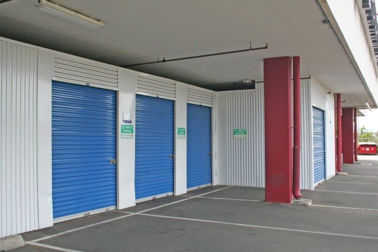 Drive-up self storage units and more at Hawai'i Self Storage in Pearl City