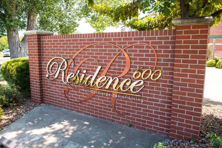 Residence 600 signage in Salina, KS