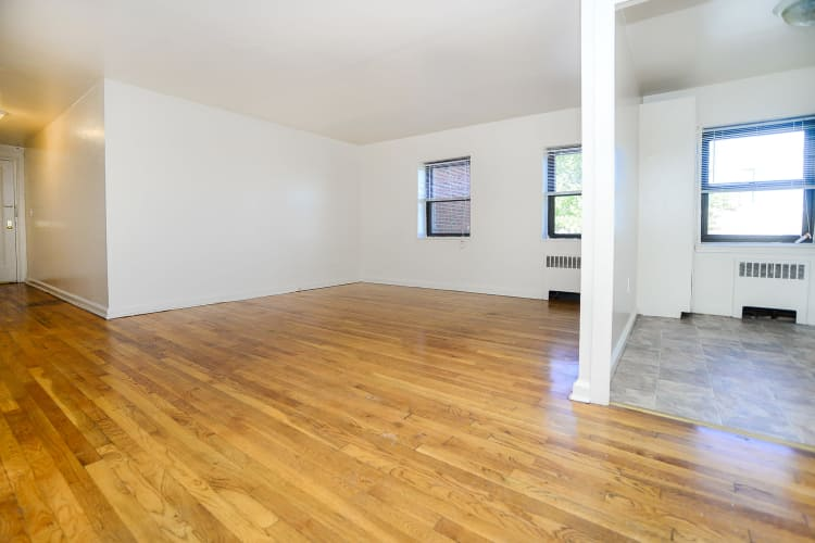 Beautiful hardwood floors at our apartments in Perth Amboy