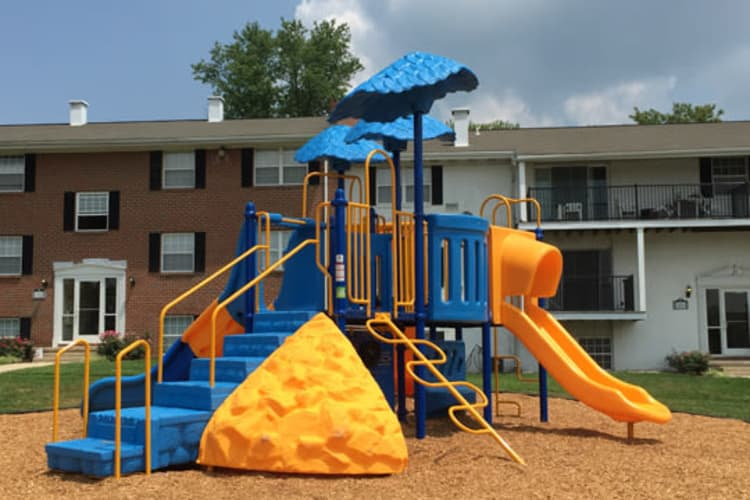 Towson Crossing Apartment Homes offers a playground in Baltimore, MD