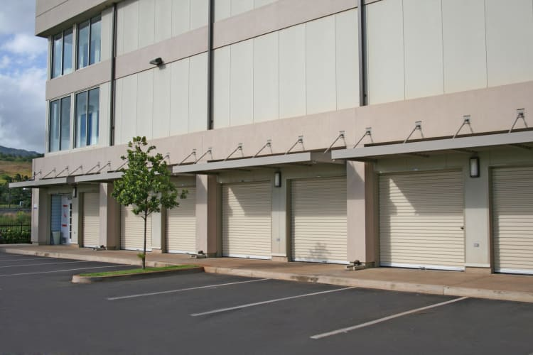 Exterior view of our self storage facility at Hawai'i Self Storage in Kapolei
